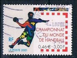 2001 Handball World Champions YT 3367 - Used Stamps