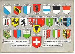 SUISSE - Armoiries Des Cantons Suisses - Other