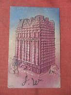 Embossed. Glitter Added The Bellevue Strattford Hotel  Philadelphia Pennsylvania > Philadelphia     Ref 5235 - Philadelphia