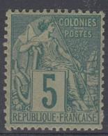 #172# COLONIES GENERALES N° 49 ** - Alphee Dubois