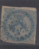 #172# COLONIES GENERALES N° 4 Oblitéré Losange Bleu CCN4 - Eagle And Crown
