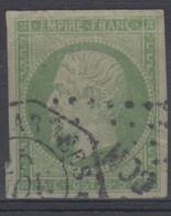 #172# COLONIES GENERALES N° 8 Oblitéré Losange CCH Et Cachet De Correspondance D'armées   SUPERBE - Napoleon III