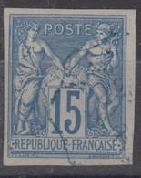 #172# COLONIES GENERALES N° 41 Oblitéré Cachet Ondulé Balade (Nouvelle-Calédonie) - Sage