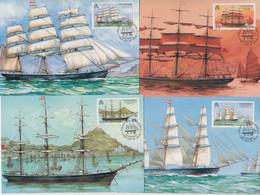 Guernsey -  1988 Shipping Set 5 Maxicard - Guernsey