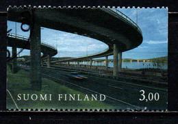 FINLANDIA - 1999 - STRADE STATLI - SOPRAELEVATA - USATO - Gebraucht
