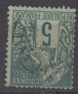 #172# COLONIES GENERALES N° 49 Oblitéré Saint-Denis. (Réunion) - Alphee Dubois