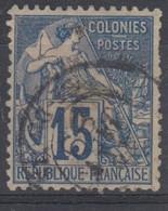 #172# COLONIES GENERALES N° 51 Oblitéré St-Denis. (Réunion) - Alphee Dubois