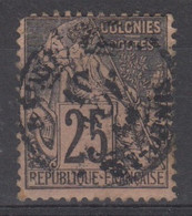 #172# COLONIES GENERALES N° 54 Oblitéré St-Denis. (Réunion) - Alphee Dubois