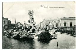 Catania Fontana Luminosa (scultore Moschetti) - Catania