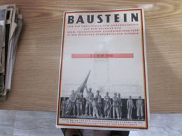 Baustein Fur Die Errichtung Von Gedenkstatten Auf Dem Gelande Der Ehem Faschistischen Konzentrationslager In Der DDR - Historical Documents