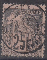 #172# COLONIES GENERALES N° 54 Oblitéré Saint-Pierre (Réunion) - Alphee Dubois