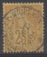 #172# COLONIES GENERALES N° 53 Oblitéré Saint-Pierre-et-Miquelon - Alphee Dubois