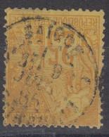 #172# COLONIES GENERALES N° 53 Oblitéré Saigon (Cochinchine) - Alphee Dubois