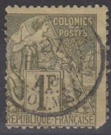 #172# COLONIES GENERALES N° 59 Oblitéré Nouméa (Nouvelle-Calédonie) - Alphee Dubois