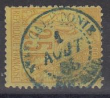 #172# COLONIES GENERALES N° 53 Oblitéré En Bleu Bourail (Nouvelle-Calédonie) - Alphee Dubois