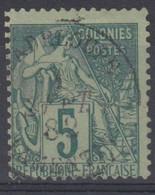 #172# COLONIES GENERALES N° 49 Oblitéré Lamentin (Guadeloupe) - Alphee Dubois