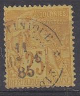 #172# COLONIES GENERALES N° 53 Oblitéré François (Martinique) - Alphee Dubois