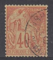 #172# COLONIES GENERALES N° 57 Oblitéré Libreville (Congo) - Alphee Dubois