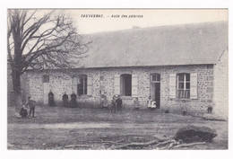 Jolie CPA Animée Sauvagnac, Charente, Asile Des Pèlerins - Altri Comuni