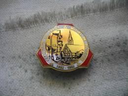 Pin's Arthus Bertrand Du Centenaire Du Crédit Mutuel De BLOTZHEIM - Arthus Bertrand