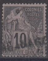 #172# COLONIES GENERALES N° 50 Oblitéré Griffe De Paquebot - Alphee Dubois