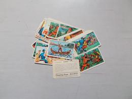 LOT DE 37 IMAGES CHEWING GUM KING ALBUM ZORRO 2E EPISODE PAS DE DOUBLE - Sammelbilderalben & Katalogue