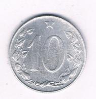 10 HALLER  1956 -rare-   TSJECHOSLOWAKIJE /8160/ - Czechoslovakia