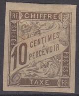 #172# COLONIES GENERALES TAXE N° 19 * - Postage Due