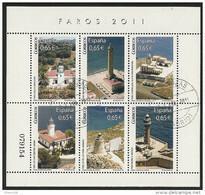 2011-ED. 4646 H.B.-SERIE DE FAROS-USADO - 2011-... Usati