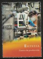 2014-ED. 4878 -Marca España. E-Empresa. Centro De Producción-USADO - 2011-... Usati