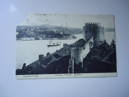 LEVANT FRANCE STAMPS CONSTANTINOPLE 1910  TURKEY POSTCARDS CUP  CORNER  2 SCAN - Unclassified