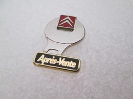 PIN'S    CITROEN  APRES VENTE   Bicolore   Zamak - Citroën
