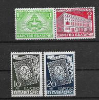 Bulgarien,2  Postfrische Sätze Der  Ausgaben Von 1939 + 1940 - Unused Stamps