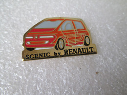PIN'S    SCENIC  BY  RENAULT - Renault