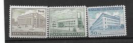 Bulgarien,  Postfrischer Satz Der Ausgabe Von 1941, öffentliche Gebäude - Unused Stamps