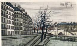 PARIS - Le Pont De La Tournelle - Bernard Buffet - Paintings