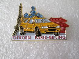 PIN'S    CITROEN  ZX    RALLYE  PARIS BEIJING - Citroën