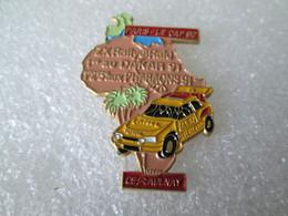 PIN'S    CITROEN  ZX    RALLYE  PARIS  LE CAP  92    CE  AULNAY - Citroën