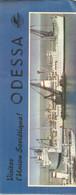 GU / Advertising Tourism Guide  TOURISME  / Guide Touristique  DEPLIANT ODESSA RUSSIE U.R.S.S Union Sovietique - Tourism Brochures
