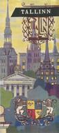 GU / Advertising Tourism Guide  TOURISME  / Guide Touristique Dépliant  RUSSIE U.R.S.S TALLINN - Tourism Brochures