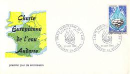 French Andorra FDC 1969 Charte Europeenne De Løeau Andorre (DD33-11) - FDC
