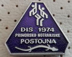 POSTOJNA Basketball Postumia Postojnska Jama  Grotte Cave Speleology Cavern Human Fish Slovenia Pin - Cities