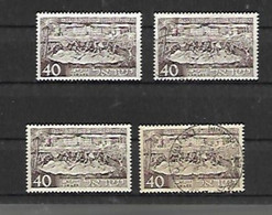 40 ème Anniversaire De Tel Aviv - Unused Stamps (with Tabs)