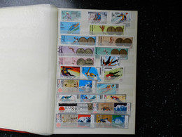 Wintersports/Olympics : Stockbook Full Of Stamps With 120+ Blocks/sheetlets, CHEAP !!! - Collections (en Albums)