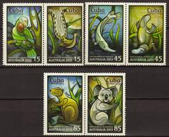 CUBA 2013 FAUNA Animals EXPO AUSTRALIA - Fine Set MNH - Unused Stamps