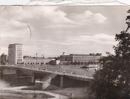 Frankfurt Friedensbrücke U. AEG Hochhaus - Frankfurt A. Main