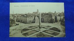 München Karolinenplatz Mit Obelisk Germany - Muenchen