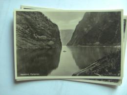 Noorwegen Norge Norway Norwegen Naerefjord Fjellporten - Norway