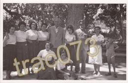 SANTA FLAVIA (PA) /Croce Rossa Italiana -Villa Mazzarino Colonia Estiva - Personale E Carabiniere -22.8.1954_Ediz. Priv. - Palermo