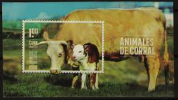 CUBA 2019 FAUNA Domestic Animals - Fine S/S MNH - Unused Stamps